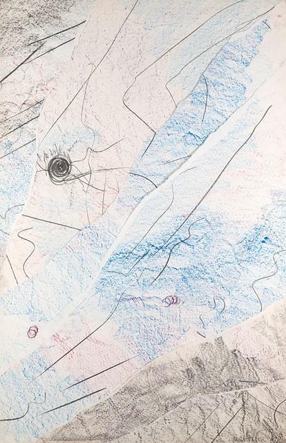 Eliseo Mattiacci, 'Predisporsi a un capolavoro cosmico-astronomico', 1981-1982, Finarte
