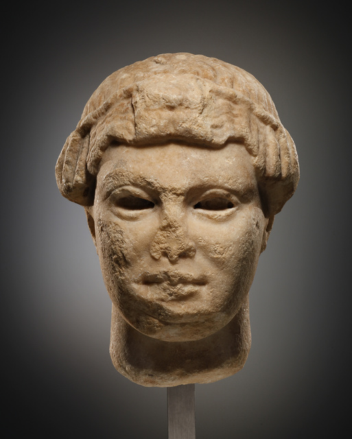 , 'An Archaistic Head of a Youth, possibly Apollo,' , Cahn International