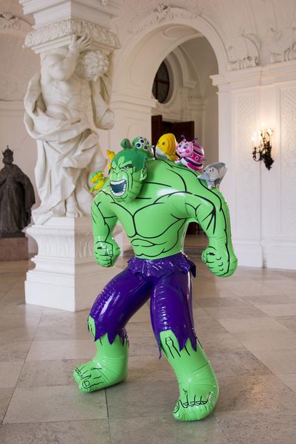 , 'Hulk (Friends),' 2004-2012, Belvedere Museum