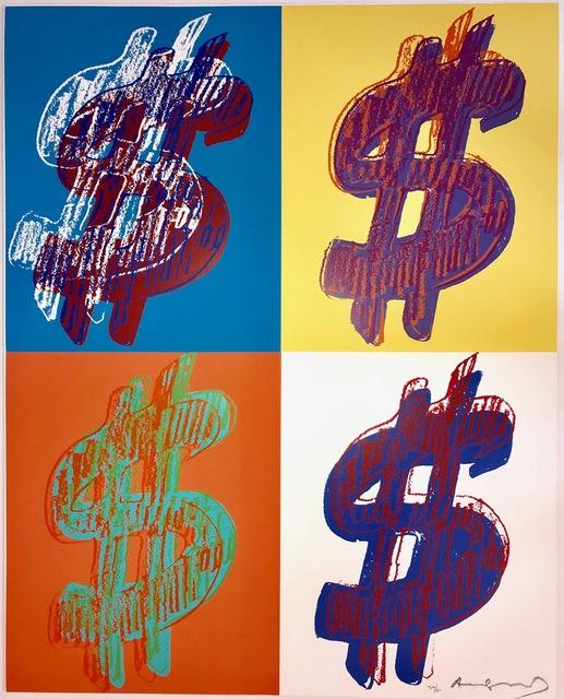 Andy Warhol, '$ Quadrant', 1982, Fine Art Mia