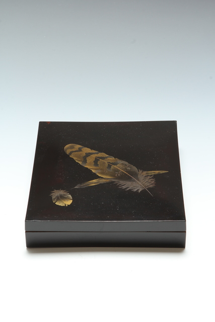 , 'Feather Writing Box (T-3178),' Meiji era (1868-1912) second half of 19th century, Erik Thomsen