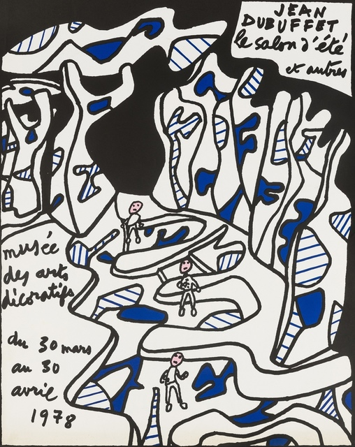 Jean Dubuffet, 'Two exhibition posters', 1974 and 1977, Forum Auctions