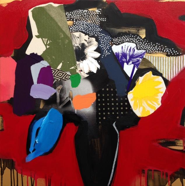 , 'Vase Of Flowers (Red),' 2016, Rebecca Hossack Art Gallery