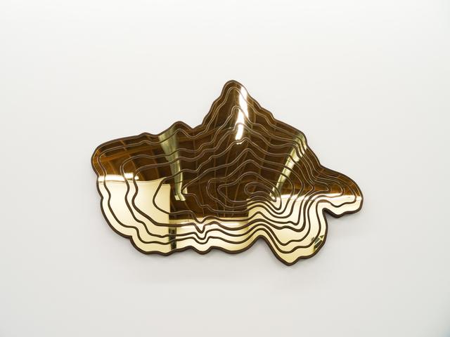 , 'Topographic Mirror,' 2016, Fabien Castanier Gallery