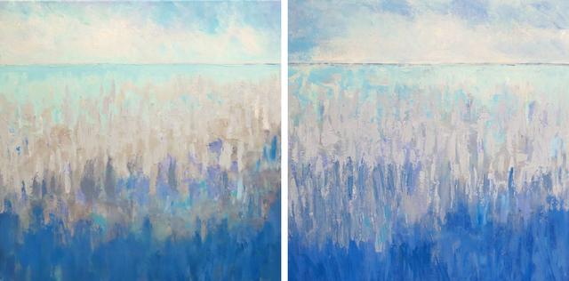 Dana Goodfellow, 'Summer Horizon (Diptych)', 2019, Handwright Gallery