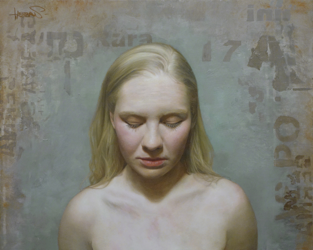 David Kassan, 'Audrey', 2013, Painting, Oil on Aluminum, Gallery Henoch