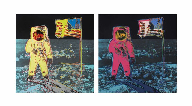 Andy Warhol, 'Moonwalk portfolio 404 & 405', 1987, OSME Fine Art