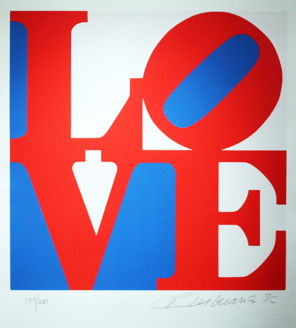 , 'Love, Red and Blue from the Book of Love,' , Gormleys Fine Art