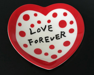 Love Forever ceramic bowl