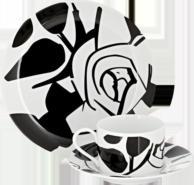 Alex Katz, 'Dessert Plate, Cup & Saucer Set', 2015, Artware Editions