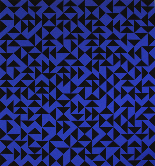 Anni Albers, 'Intaglio with Triangles Album Exacta 105/125', 1973, Mixed Media, Silkscreen, Galerie Denise René