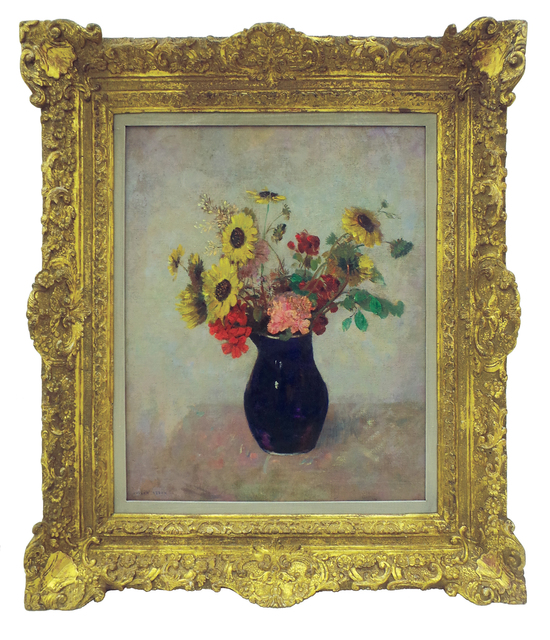 , 'Bouquet Au Petit Vase Bleu,' 1900, Gana Art