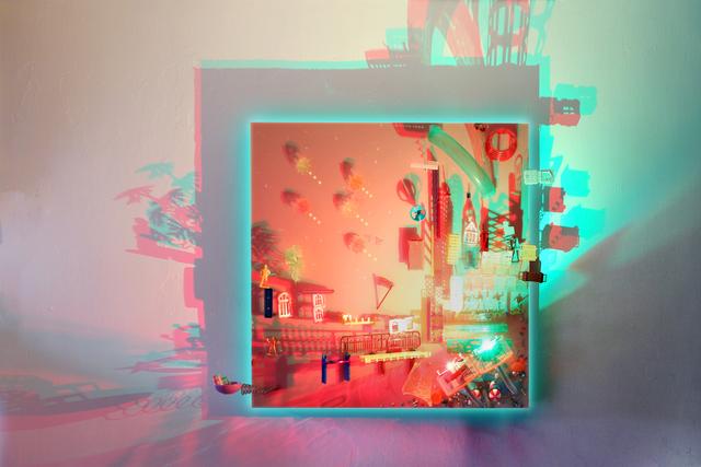 , 'Parallel Universe- Queens Pier,' 2019, Contemporary by Angela Li