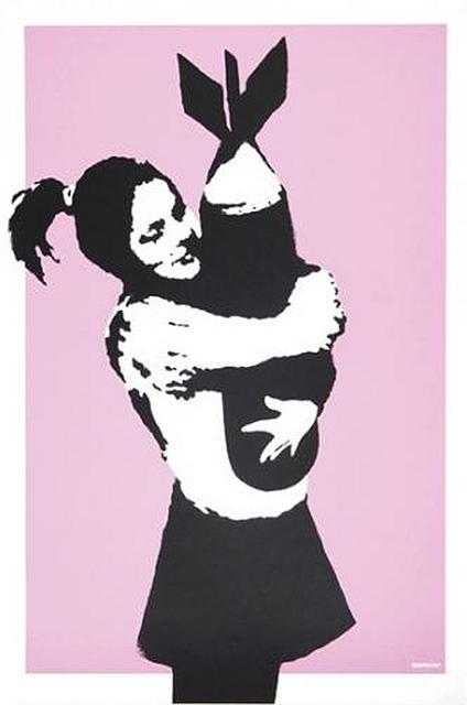 Banksy, 'Bomb Hugger', 2003, Taglialatella Galleries
