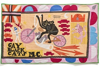 Grayson Perry, 'Gay Black Cats MC', 2017, Reem Gallery