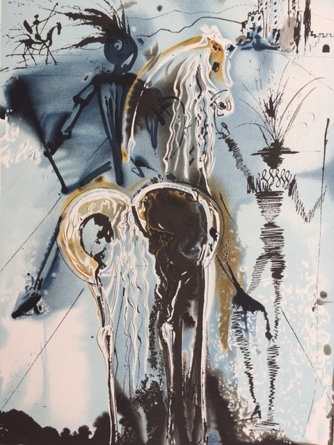 Salvador Dalí, 'Don quichotte', 1983, ByNewArt