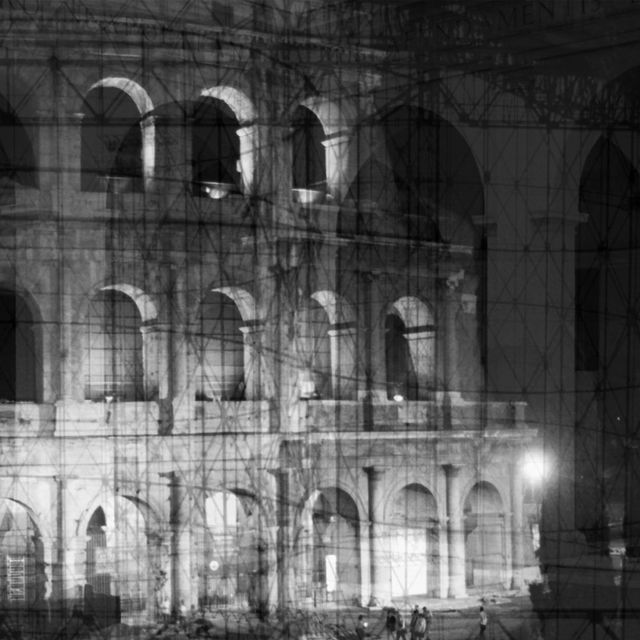, 'My own Rave. Roma (Colosseo ingabbiato),' 2014, Galleria Anna Marra