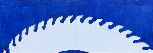 , 'Rain drops on the window. The Circular saw. ,' 2019, Galerija VARTAI