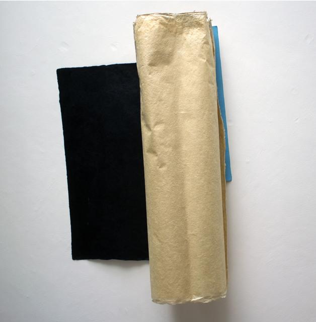 , ' Doble giro con negro y azul,' 2018, Nina Menocal Gallery