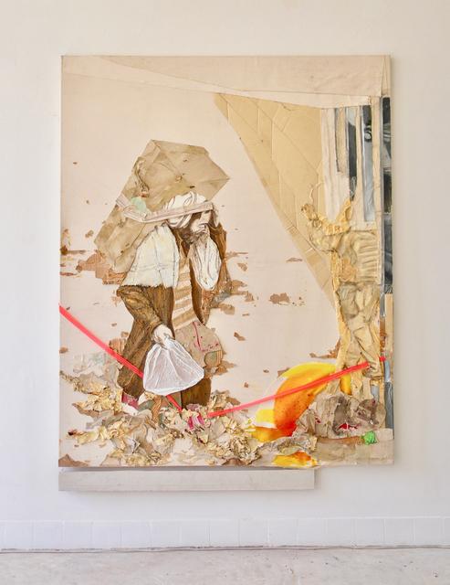 Maurice Thomassen, 'Petripheral theatre : Border', 2011-2019, Mixed Media, Mixed media on canvas, NL=US Art