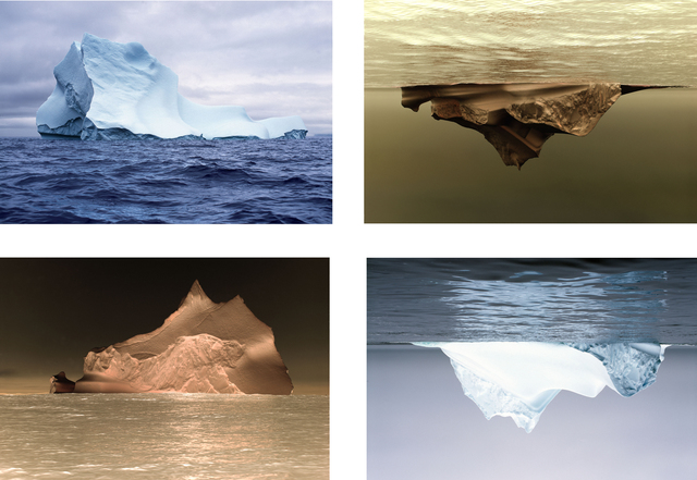 , 'Single Iceberg (two by two),' 2015, Christopher Grimes Projects