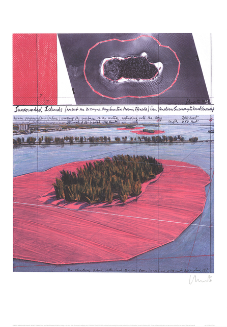 , 'Surrounded Islands, Biscane Bay, Greater Miami,' 1995, ArtWise