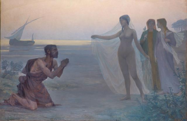 , 'Le Berger et la Mer (The Shepherd and the Sea),' 1895, Jack Kilgore & Co.