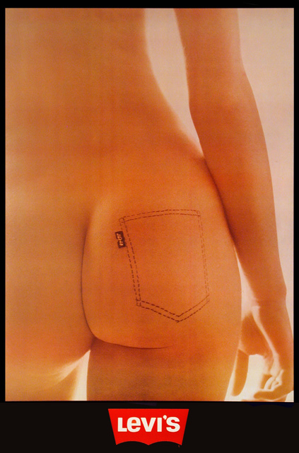 , 'Levi's Jeans - Naked - Nude ,' 1973, Omnibus Gallery
