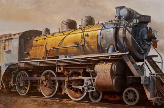 Drew Ernst, 'Locomotive!', 2019, RJD Gallery