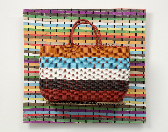 , 'Handbag (Stripes),' 2015, Laure Genillard