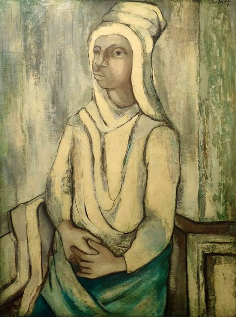 , 'Woman in White Turban,' ca. 1939, Bill Hodges Gallery