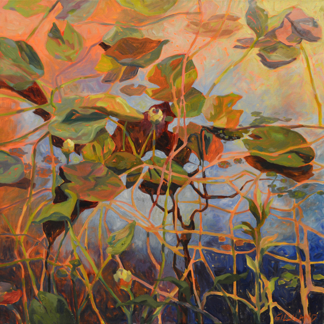 , 'Water Lily 1,' , The Bonfoey Gallery