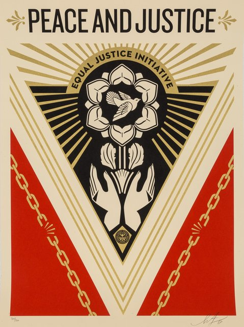 Shepard Fairey, 'Peace and Justice Summit', 2018, Heritage Auctions