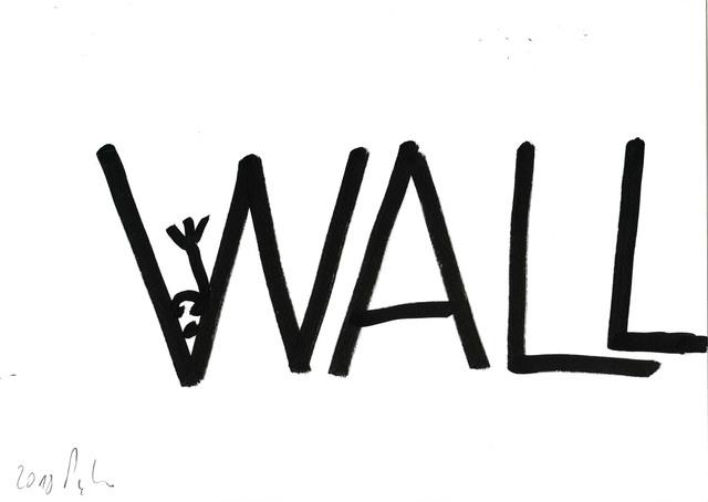 , 'Le mur après le mur après le mur #F,' 2018, Michel Rein Paris/Brussels