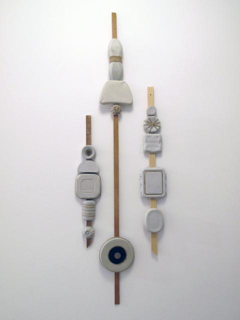 , 'Entrance Totems,' 2017, Carter Burden Gallery