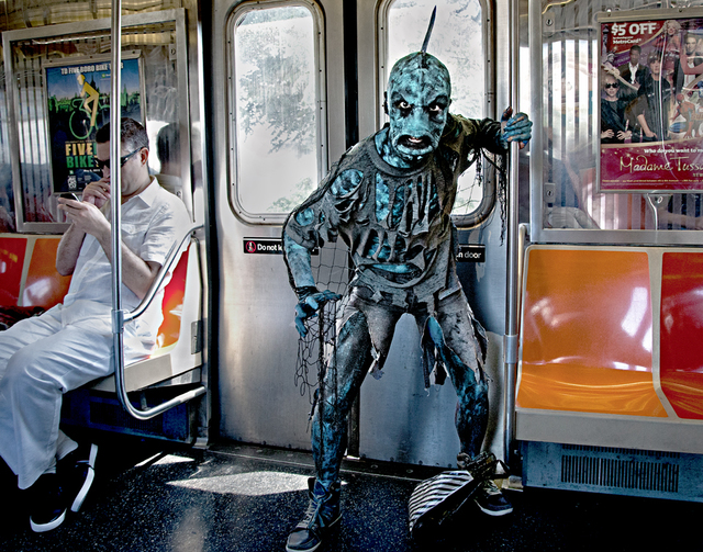 , 'The Monster On The Train,' , Soho Photo Gallery