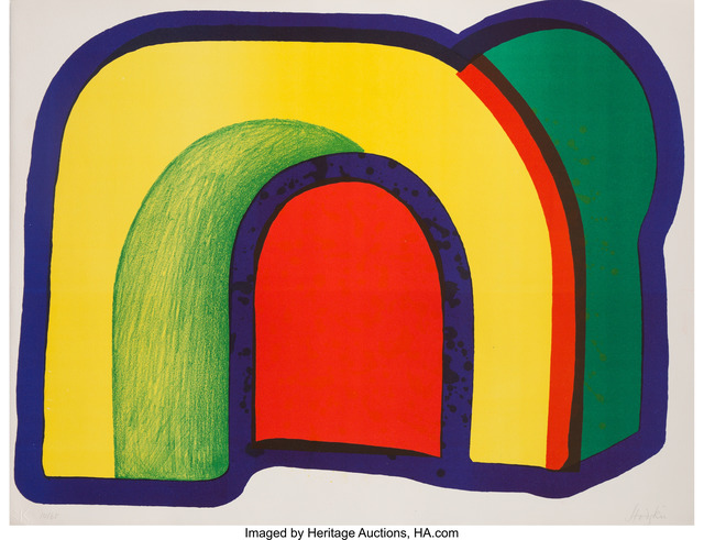 Howard Hodgkin, 'Arch (Composition with Red)', 1970, Heritage Auctions