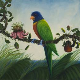 , 'Island Lorikeet,' 2012, Clark Gallery