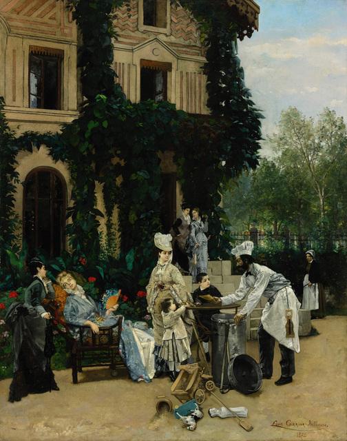 Louis Robert Carrier-Belleuse, 'The Crêpe Maker', 1874, Alon Zakaim Fine Art