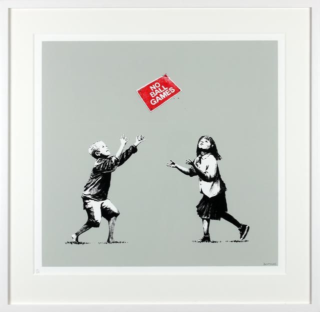 Banksy, 'No Ball Games (Grey)', 2006, Gormleys Fine Art
