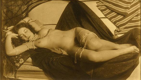 , 'Reclining Nude,' Vienna 1926, Johannes Faber