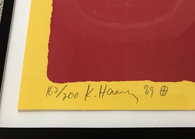 Keith Haring, 'Paris Review', 1989, Print, Screenprint, Fine Art Mia