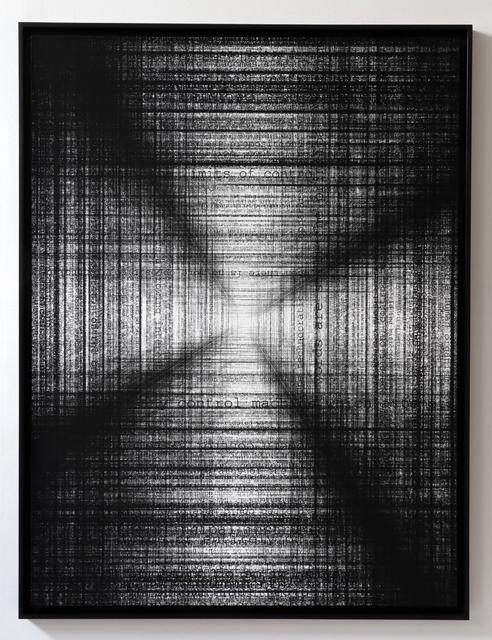 Pascal Dombis, 'The Limits of Control (B2)', 2015, Galerie Pascal Janssens