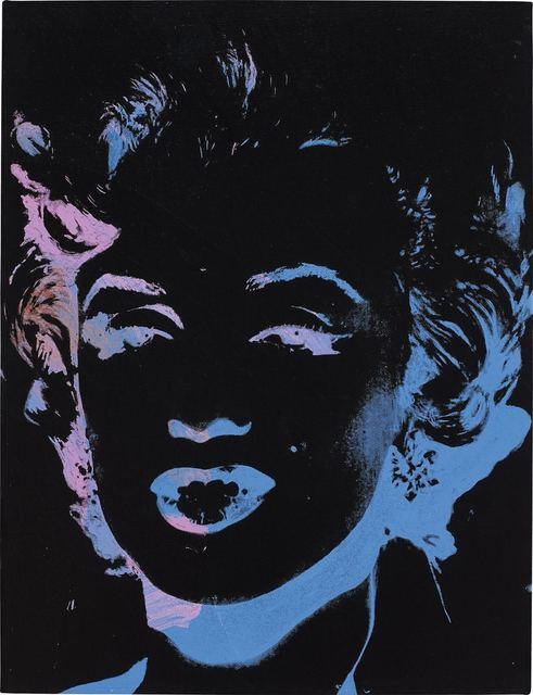 Andy Warhol, 'One Multicolored Marilyn (Reversal Series)', Kings Wood Art