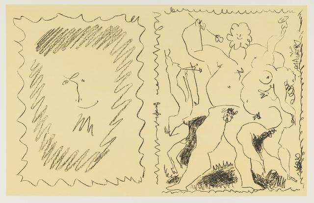 Pablo Picasso, 'Bacchanal (Bloch 795; Mourlot 280)', 1955, Print, Lithograph printed in colours, Forum Auctions