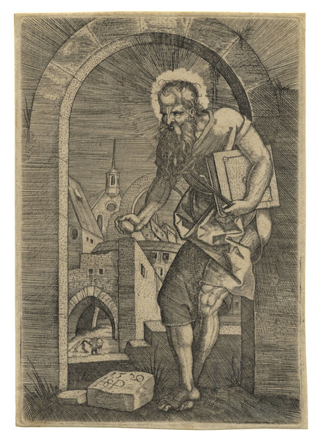 , 'St. Hieronymus am Torbogen – St. Jerome by the Arch,' 1520, C. G. Boerner