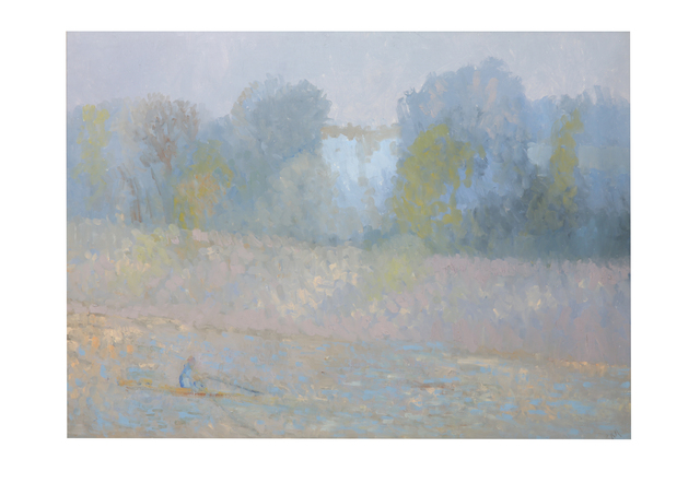 Bernard Myers, 'Single Scull Evening', Chiswick Auctions