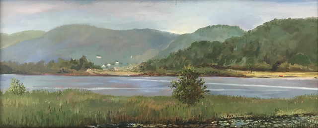 , 'Connecticut River from Herrick's Cove,' 2013, Canal Street Art Gallery