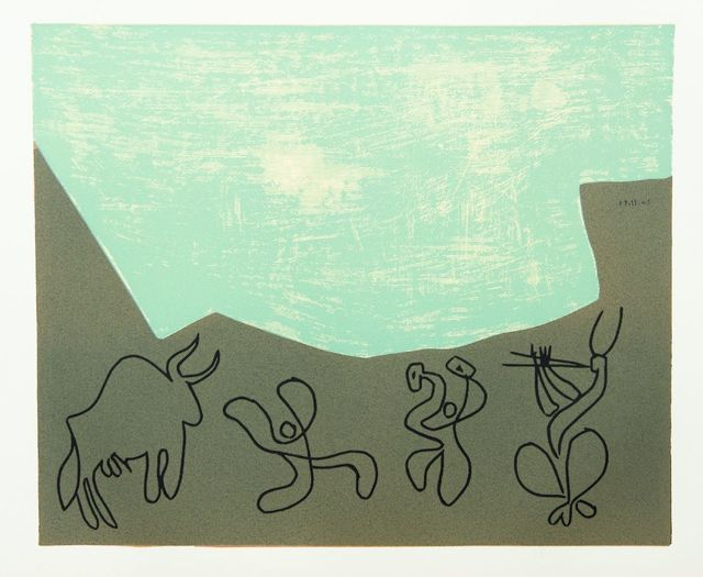 Pablo Picasso, 'BACCHANAL WITH BLACK BULL;', 1962, Sworders