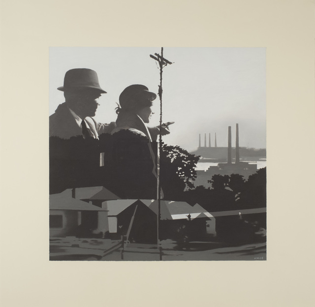 Martin Mull, 'Study for Twin Cities', 2006, Iris Project